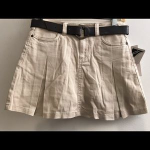 Christie Brooks Skirt w/ built in shorts Girl 12